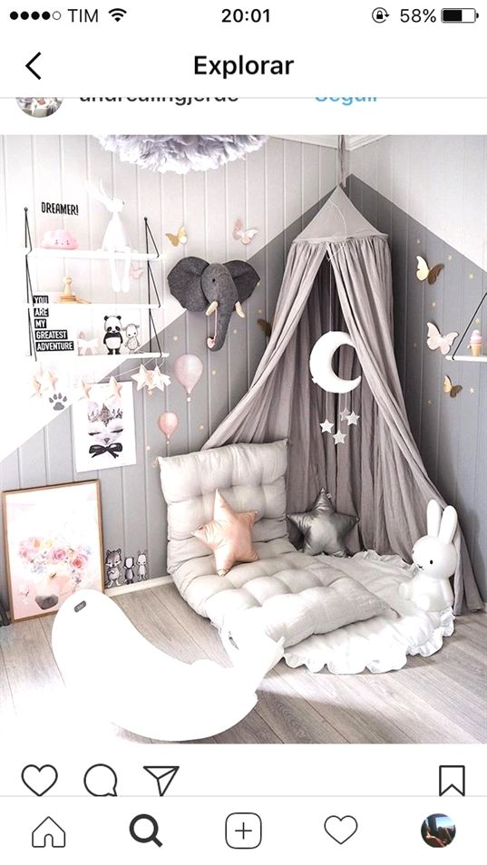 Neutral Gender * Nursery Room – Einfaches Studio #nurseryroom #nursery #neutral #greynursery #BedroomIdeas