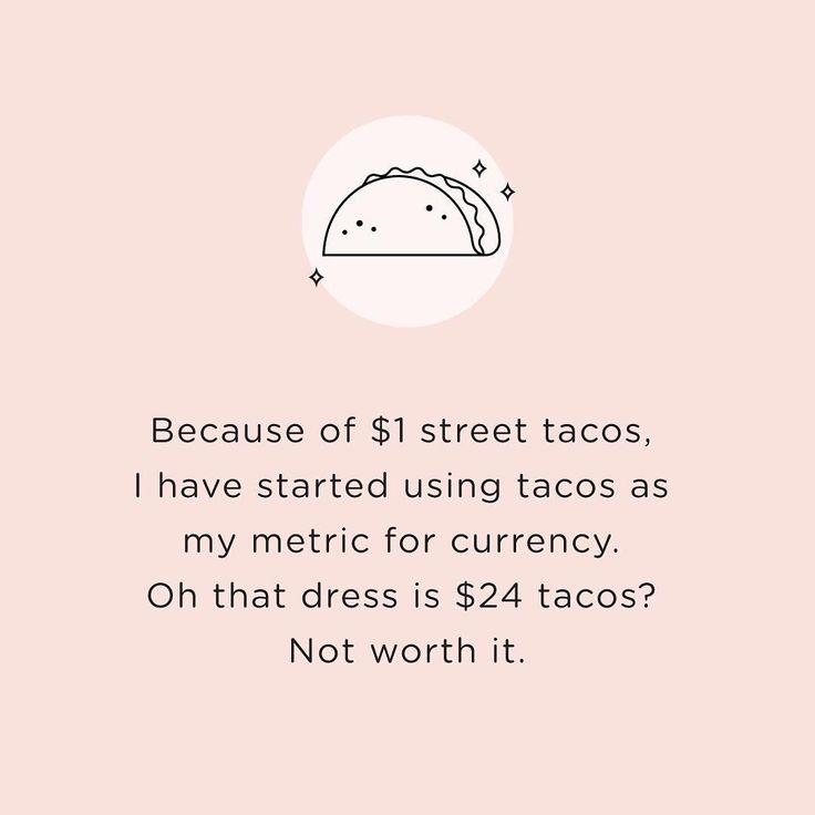 Lol dollar breakfast tacos everywhere!