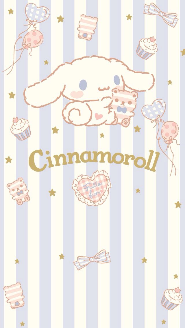 Cinnamoroll with his teddy ♪(๑ᴖ◡ᴖ๑)♪