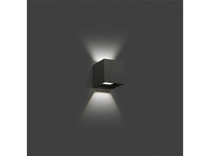 OLAN LED aplique gris oscuro | Faro