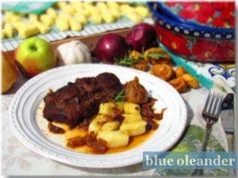 Croatian style beef pot roast