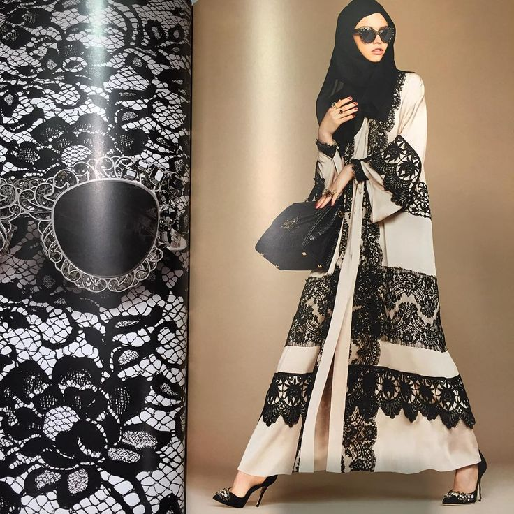 """Dolce & Gabbana the Abaya Collection ❤️❤️❤️❤️#theabayacollection"""