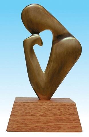 Sculpture פסלון ''אני חושב'', ''I THINK''