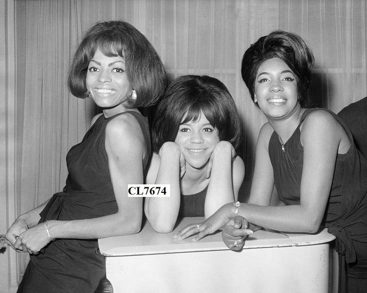 The Supremes: Florence Ballard, Diana Ross, and Mary Wilson Photo | eBay