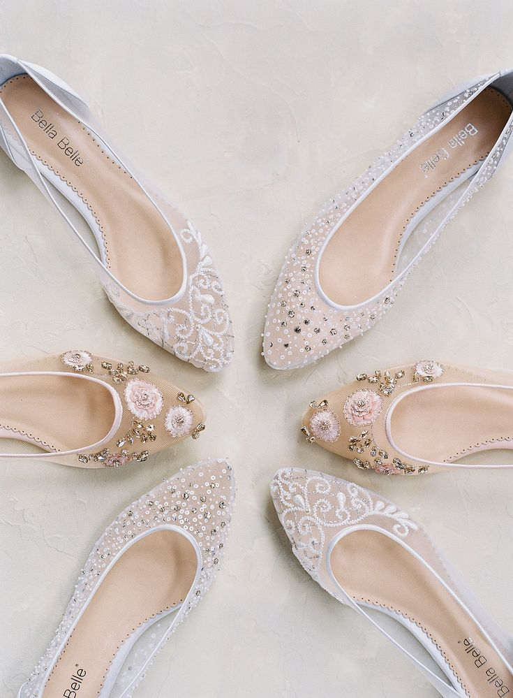BTS Stunning Wedding Shoes Euphoria Collection