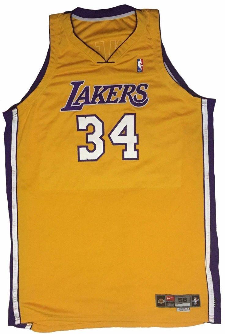 #SportsMemorabilia.com - #SportsMemorabilia.com Shaquille O'Neal Game Worn Jersey 2000-2001 NBA Finals Championship Season LOA - AdoreWe.com