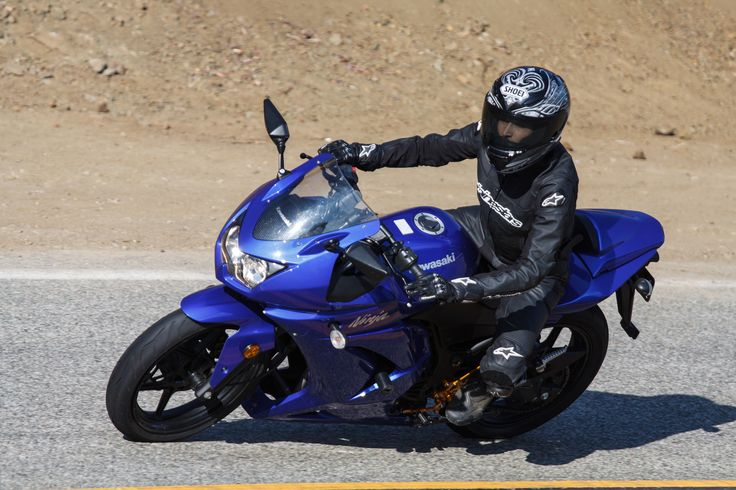 https://flic.kr/p/hwvVLB | Kawasaki Ninja on Mulholland Highway | Kawasaki Ninja is the trademarked name of several series of Kawasaki sport bikes, that started with the 1984 GPZ900R.