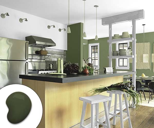 Color Of The Month December 2014 Cypress Paint Colors For KitchensKitchen