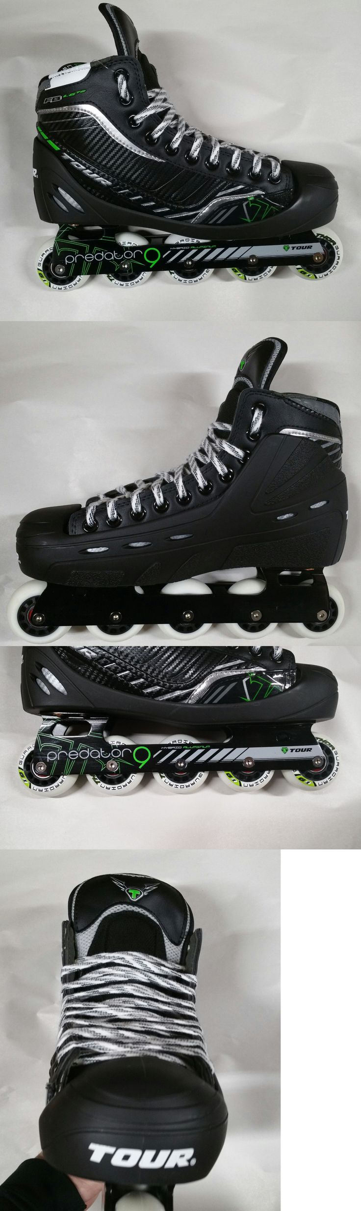 Roller Hockey 64669: Tour Fish Bonelite Lg72 Senior Roller Hockey Goalie Skate Size 9 D New In Box BUY IT NOW ONLY: $219.99