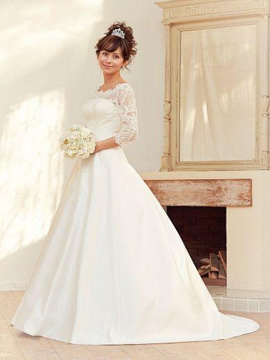 シンプルでスタンダードなドレスがいい!フォーマルな花嫁衣装を着たい!ドレス参照一覧まとめ♡