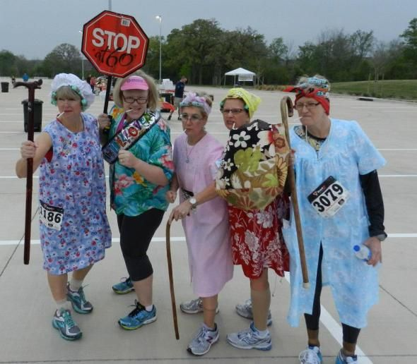 Old Lady Runners