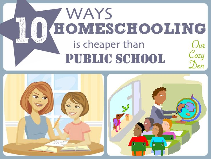 10 Ways Homeschooling is Cheaper than Public School Our