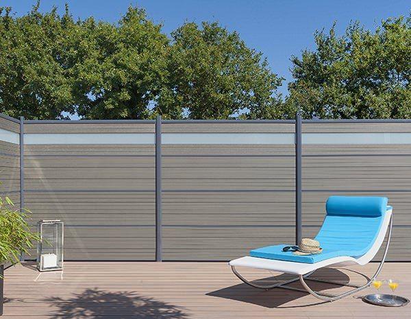 Claustra Bois Vintage : Composite Privacy Fence Panels