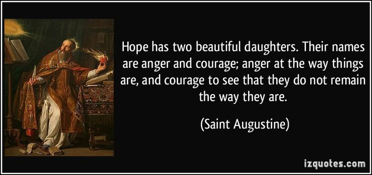 Hope Has Two Beautiful Daughters. Their