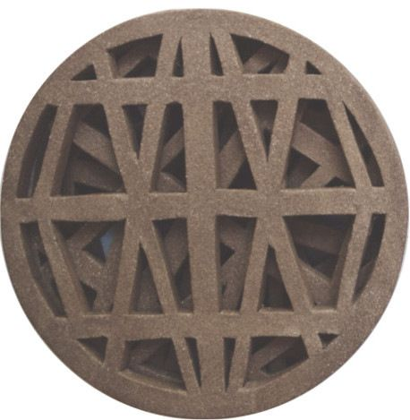 Handmade Stoneware Hot Plate/Trivet, Round industrial-specialty-cookware