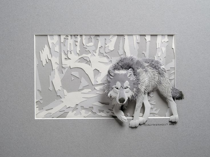 Berühmt 95 best calvin nicholls images on Pinterest | Paper sculptures  XK76