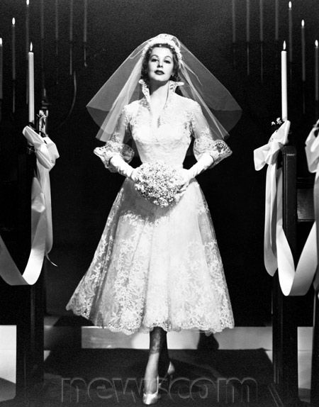 ... Photos of Classic Movie Stars in Wedding Dresses | Newscom FocalPoint
