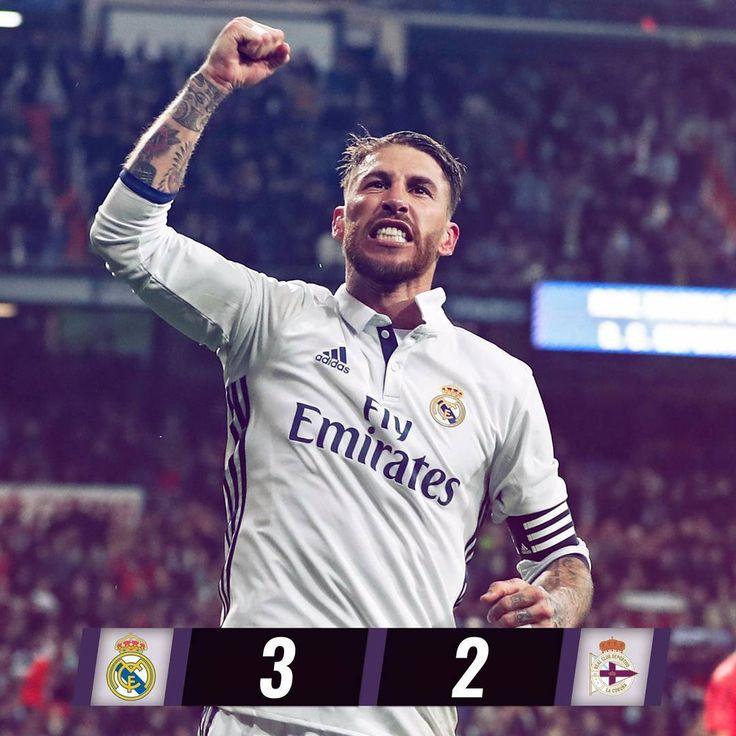 Real Madrid 3-2 Deportivo - Ardan News