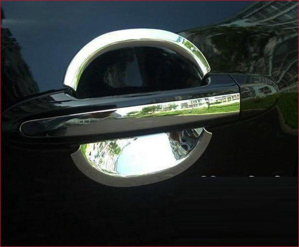 Хром дверь рукоятка чаша крышка отделкой и дверь рукоятка крышка для санта-фе 8 шт. 2007 - 2010