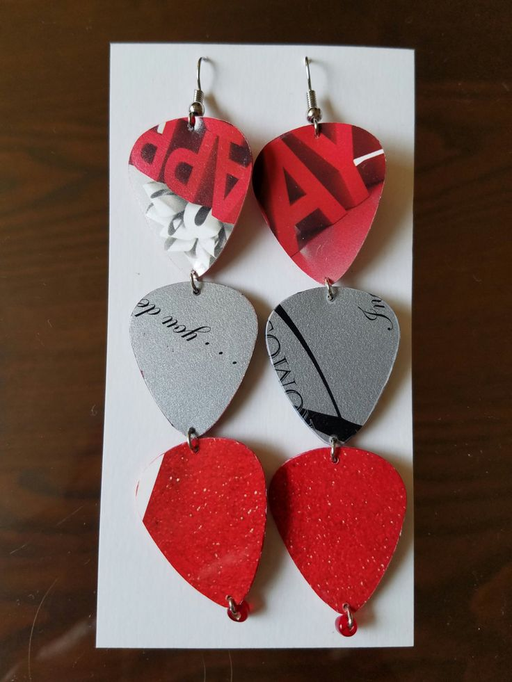 Target and Nike Gift Card Edgy Earrings by SissyandSassyStudios on Etsy