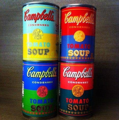 Soup learns to imitate art. Campbell's finally returns the favor. Andy would have been thrilled.: 50Th Anniversary, Art Lessons, Limited Editing, Warhol Inspiration, 50Th Anniversaries, Colors Schemes, Campbell Soups, Andy Warhol, Soups Cans