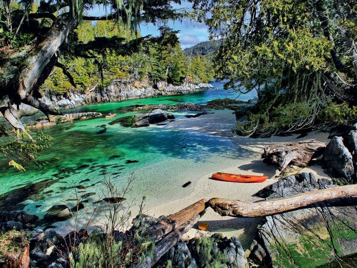 Calvert Island, British Columbia. Welcome to Canada's Caribbean.
