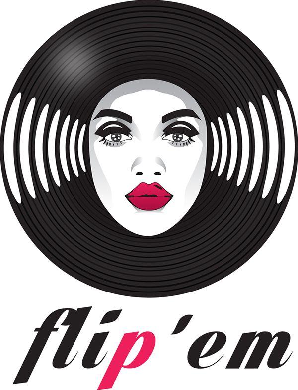 Logo design Flip'em