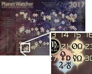 Planet Watcher - Current Transiting Positions in Astrology