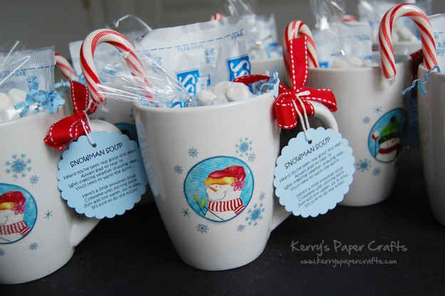 Snowman Soup   15 Easy Gifts You Can Put In A Mug