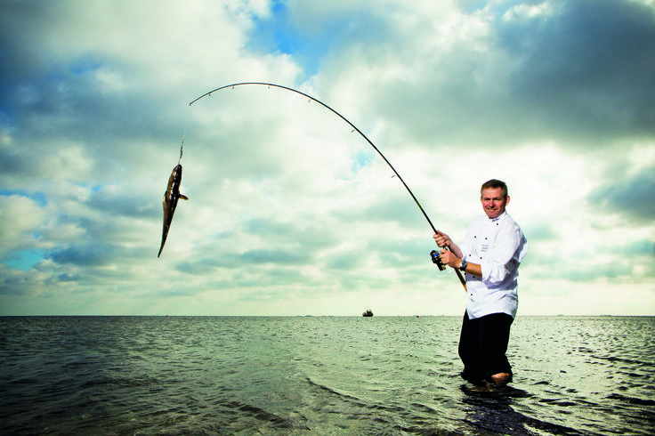 Fresh fish from Hietalahti pier #brainfood
