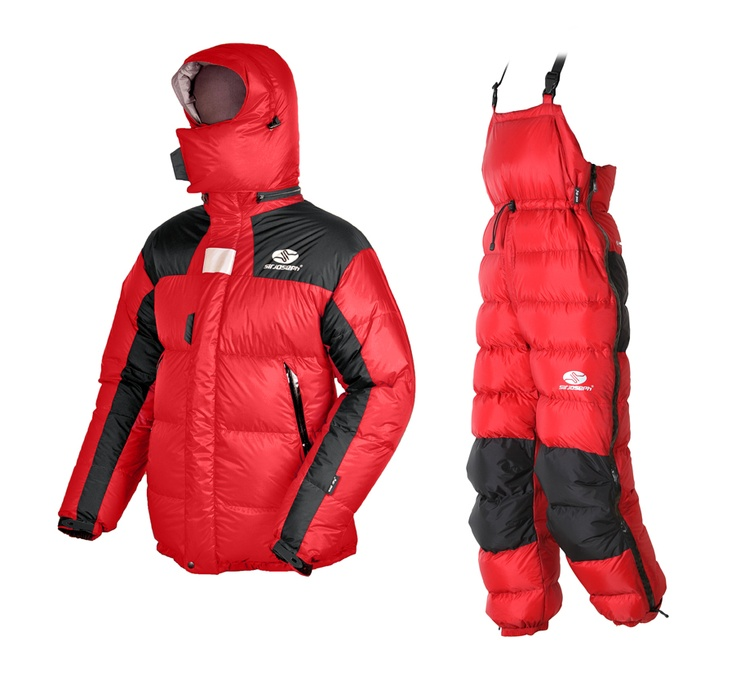 SIR JOSEPH Expeditionsbekleidung [ Expeditionsdaunenjacke 8000 & Expeditionsdaunenhose RAK ] bei http://xtrym.de online kaufen.