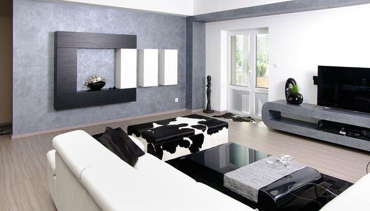 Modern living room design idea.