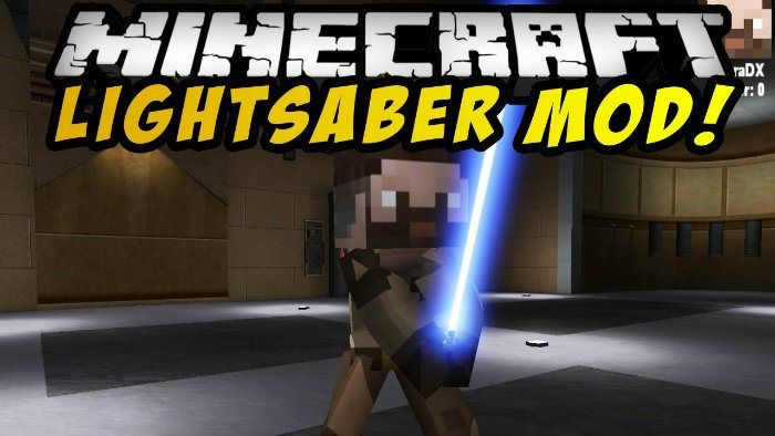Lightsabers Mod for Minecraft 1.7.10 -  Despite having the name of Lightsabers, which might make you suppose that it just offers the Star Wars' symbolic energy weapons for Minecraft, this mod actually gives players access to force-related abilities together with many other great things.  #MinecraftMods1710 -  #MinecraftMods