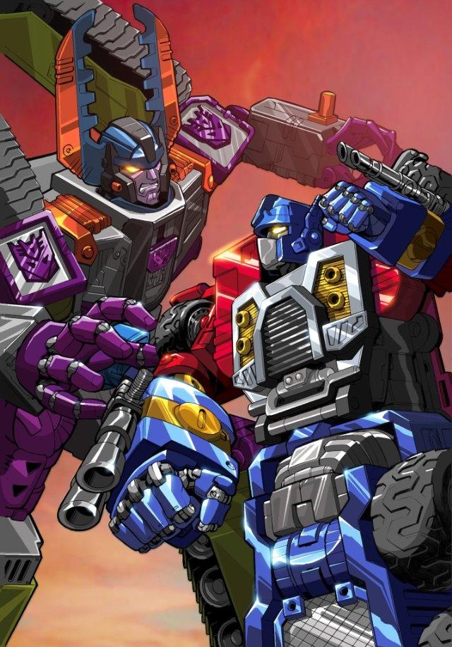 Transformers Armada- Optimus and Megatron