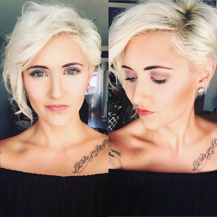 Tattoo Blond Kurzes Haar 19 Sehr