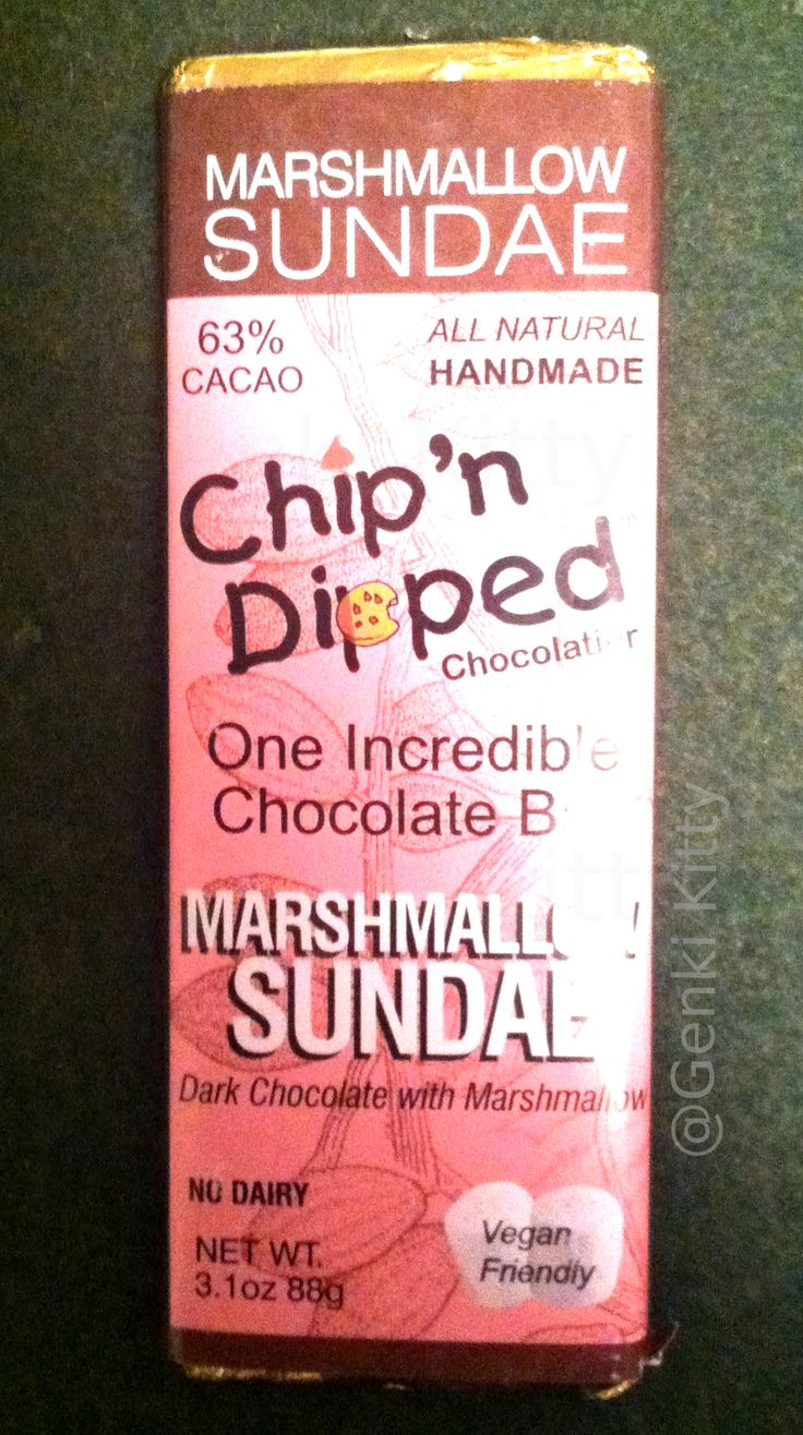 Chip 'n Dipped Vegan Chocolate