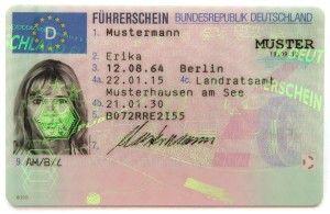 Der Führerschein / Die Fahrerlaubnis