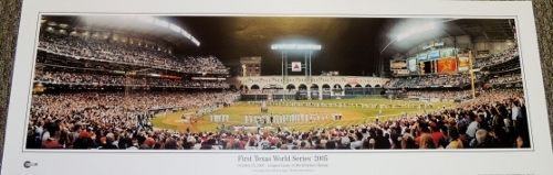AAA Sports Memorabilia LLC - Houston Astros - First Texas World Series 2005 - Longest game in World Series History - 13.5 x 39 inch Panoramic Print, $39.95 (http://www.aaasportsmemorabilia.com/mlb/houston-astros-first-texas-world-series-2005-longest-game-in-world-series-history-13-5-x-39-inch-panoramic-print/)