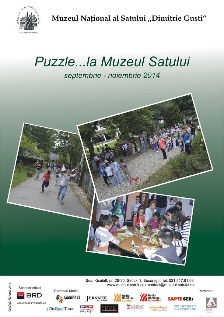 Puzzle la...Muzeul Satului