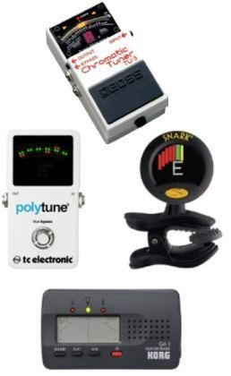 What are the Different Types Of Guitar Tuners