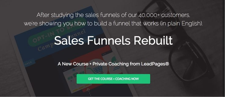 Announcing LeadPages New Course: Sales Funnel Rebuilt https://www.evernote.com/Home.action#n=b34c8df0-f854-4201-b8b8-7cd46a04ab17