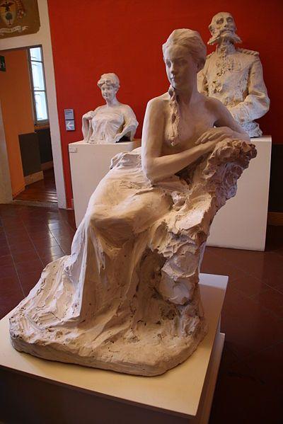 Paolo Troubetzkoy (1866-1938), Elin Troubetzkoy (1910-11). Verbania-Pallanza, Italy
