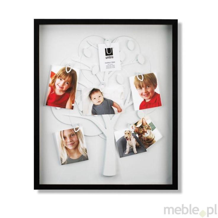Umbra Family tree Czarna Ramka Na Zdjęcia 6 Zdjęć - 316140-040