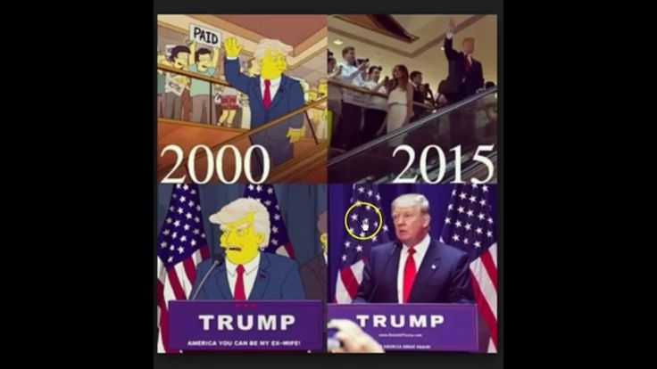 NEW! Simpsons Predict Trump In 2000 DEBUNKED!
