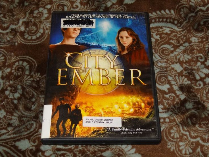 City of Ember (DVD, 2009) Bill Murray/Walden Media in Widescreen & Full Frame!