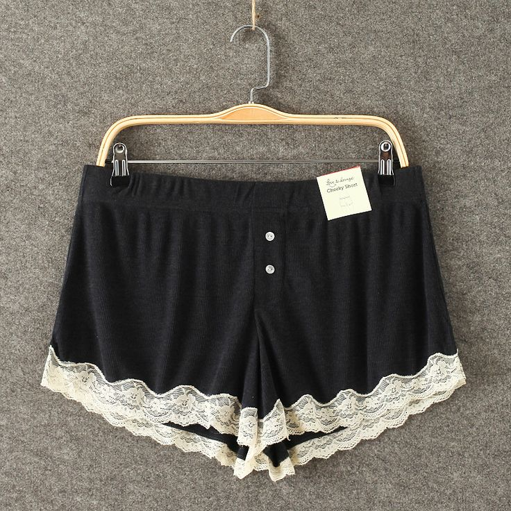 Find More Sleep Bottoms Information about Women Black Pajama Shorts Loose Summer Cute Pajama Bottoms Women Sleepwears Lace Shorts Homewears,High Quality pajamas satin,China pajama patterns for adults Suppliers, Cheap sleepwear women from MAKE-UP-AS-YOU-LIKE on Aliexpress.com