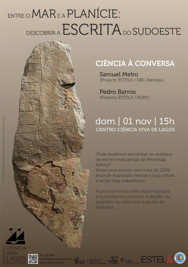 Projecto Estela: A escrita do Sudoeste na Ciência à Conversa
