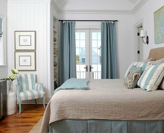 blue cabana stripe decor ideas for the home httpbeachblisslivingcom. beautiful ideas. Home Design Ideas