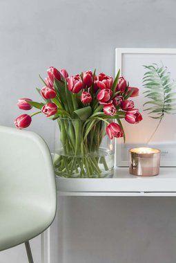 Tulipaner er et skikkelig vårtegn.