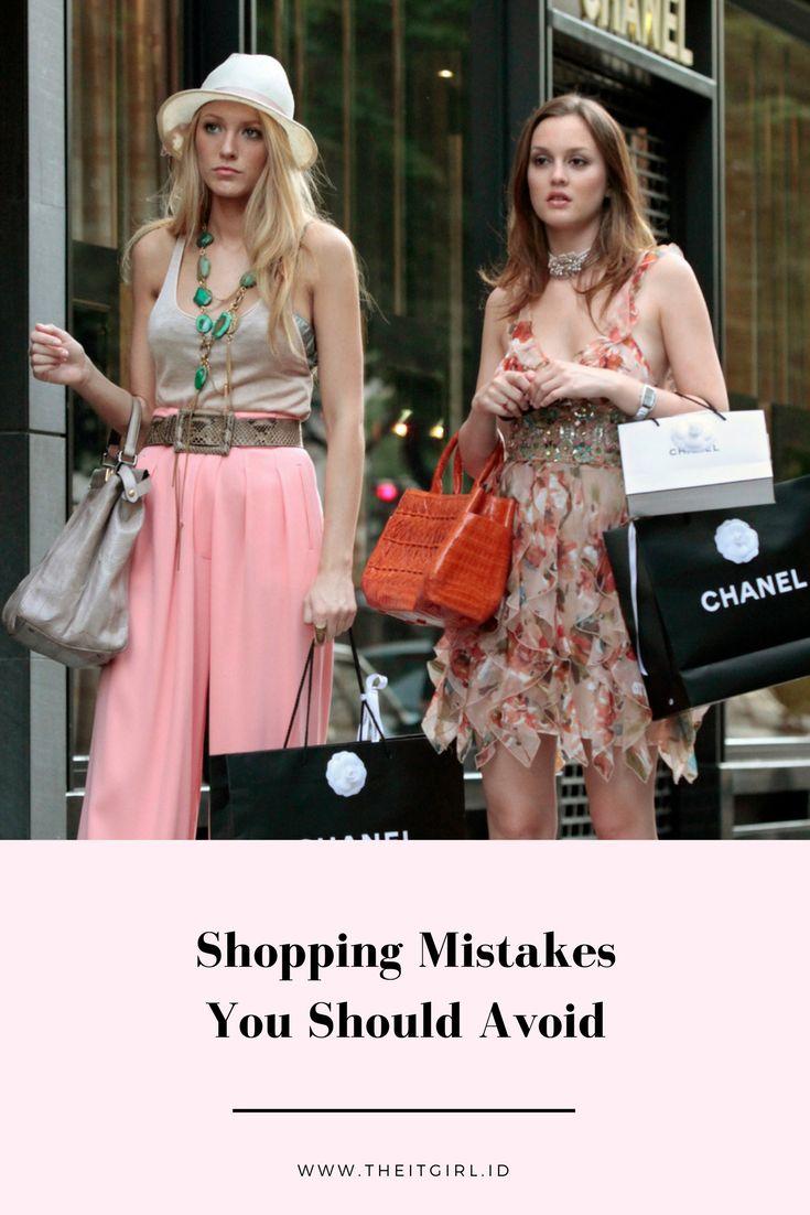 Kesalahan Saat Shopping yang Harus Dihindari | The IT Girl